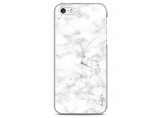 Coque iPhone 5C White Marble