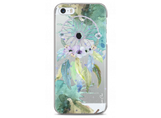 Coque iPhone 5C Green watercolor floral dreamcatcher