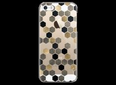 Coque iPhone 5/5s/SE Grey & Black Cubic