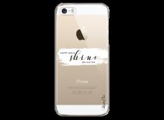 Coque iPhone 5C Happy Girls Shine Brighter