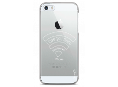 Coque iPhone 5C Today I Love You More Than Wifi