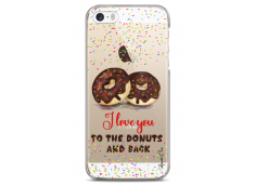 Coque iPhone 5C I love you to the donuts and back