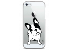 Coque iPhone 5C  Dog je t'attends