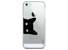 Coque iPhone 5/5s/SE Cat je te vois