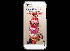 Coque iPhone 5C Chocolate & Fruits
