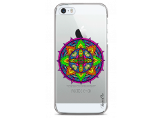 Coque iPhone 5C Color Mandala