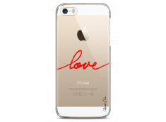 Coque iPhone 5C Red Love