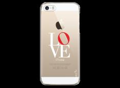Coque iPhone 5C Love