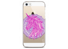 Coque iPhone 5C Mandala Licorne
