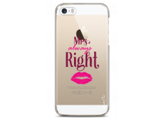 Coque iPhone 5/5s/SE Mrs always Right