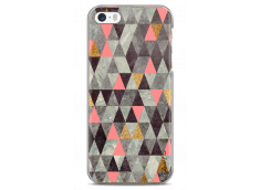 Coque iPhone 5/5s/SE Multicolor Triangle Design