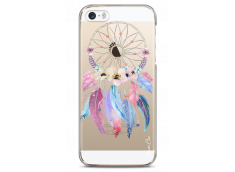 Coque iPhone 5C Multicolor watercolor floral dreamcatcher