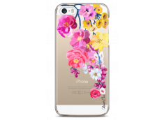 Coque iPhone 5C Painted Flowers