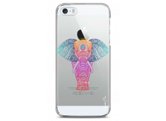 Coque iPhone 5C Pastel Tribal Elephant Mandala