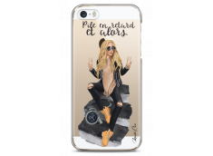 Coque iPhone 5/5s/SE Pile en Retard