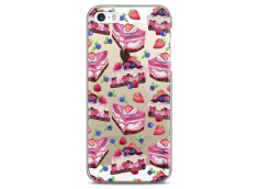Coque iPhone 5/5s/SE Pink cake pattern