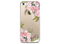 Coque iPhone 5/5s/SE Pink Flowers Painted
