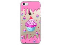 Coque iPhone 5C Pink Chocolate muffins pattern