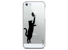 Coque iPhone 5C Cat play with me