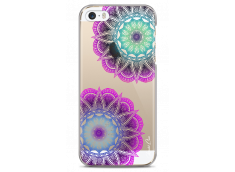Coque iPhone 5/5s/SE Purple & Blue Mandala