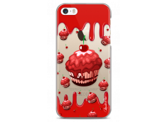 Coque iPhone 5C Red Chocolate muffins pattern