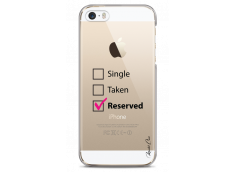Coque iPhone 5C Single Taken Reserved