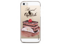 Coque iPhone 5C Royal au chocolat