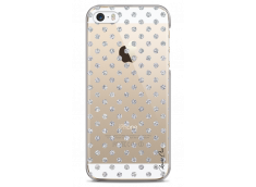 Coque iPhone 5/5s/SE Silver glitter dots