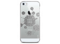Coque iPhone 5/5s/SE Silver Glitter - Girl Power