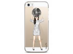 Coque iPhone 5/5s/SE Silver Party