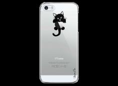 Coque iPhone 5C  Cat toujours avec toi