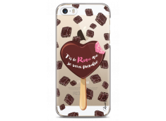 Coque iPhone 5/5s/SE Chocolate tu es mon risque