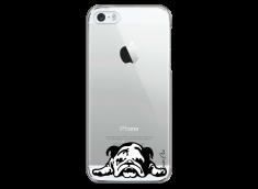 Coque iPhone 5/5s/SE Dog tu restes mon ami