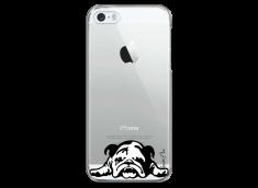 Coque iPhone 5C  Dog tu restes mon ami