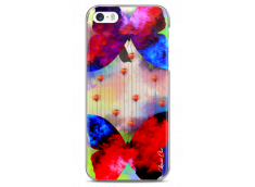 Coque iPhone 5C Gradient design butterflies