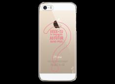 Coque iPhone 5C Veux tu te conjuguer au futur avec moi?