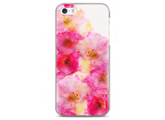 Coque iPhone 5C Watercolor bouquet flowers