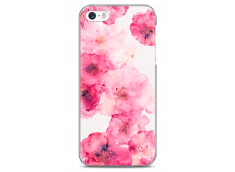 Coque iPhone 5C Watercolor pink bouquet flowers
