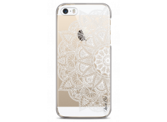 Coque iPhone 5C White Lace Mandala