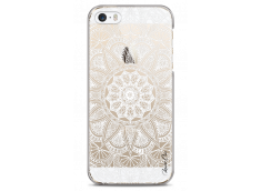 Coque iPhone 5/5s/SE White Mandala