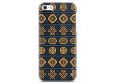 Coque iPhone 5/5s/SE Blue & Yellow aztec