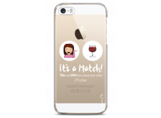 Coque iPhone 5C You and Wine It's a match