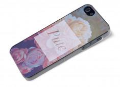 Coque iPhone 5/5S Dites-le avec des fleurs- Pute