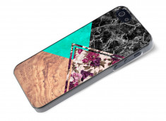 Coque iPhone 5/5S Floral Marble