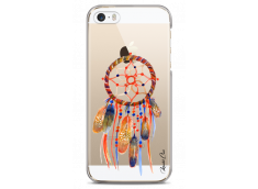 Coque iPhone 5C Blue Watercolor Dreamcatcher