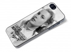 Coque iPhone 5/5S The Icons- Grace Kelly