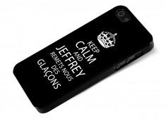 Coque iPhone 5/5S Keep Calm Jeffrey