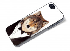 Coque iPhone 5/5S Smart Zoo- Loup