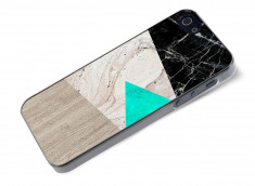 Coque iPhone 5/5S Marble and Wood