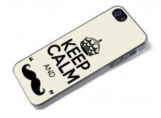 Coque iPhone 5/5S Movember-Keep Calm